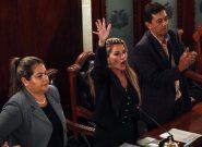 ژیناین آنز رییسجمهور موقت بولیوی شد