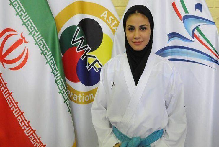 سارا بهمنیار از کسب مدال بازماند