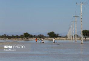 ۴۰۰ روستا در محاصرهی سیلاب قرار دارد