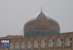 فیلم | در باب مرمت گنبد مسجد شیخ لطف الله اصفهان