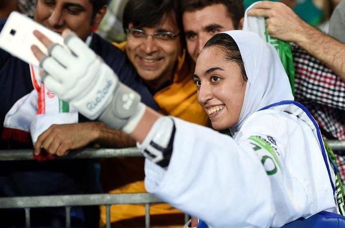 کیمیا علیزاده با پرچم کشور دیگری مسابقه میدهد