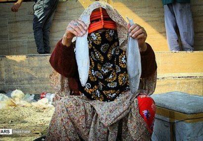 عکس| بازار «ماهیفروشان» بندرعباس