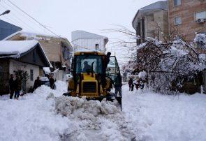 برف و مشکلات برق، گاز، آب، تلفن و… برای گیلانیها