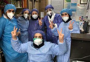 پرسنل زحمت کش بخش اورژانس بیمارستان امینی لنگرود
