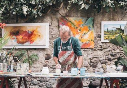 تابآوری سالمندان و هنر درمانی