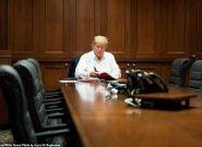 ترامپ در بیمارستان میماند