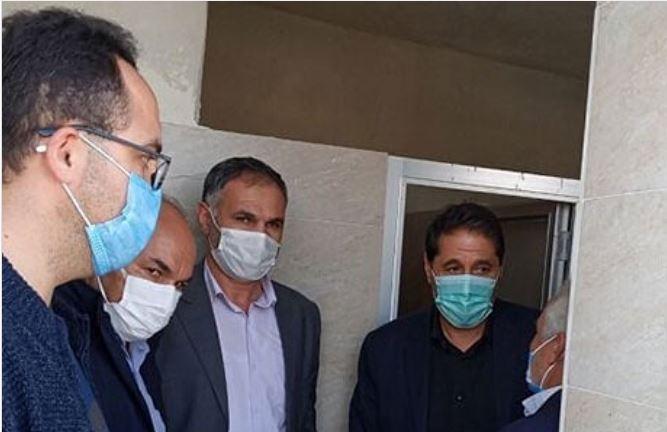 افتتاح توالت توسط نماینده مجلس