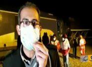 فیلم | قطار حادثه دیده به سمت مشهد حرکت کرد