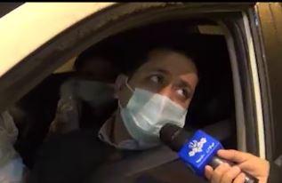 فیلم | جادهی چالوس با مانع بتونی مسدود شد