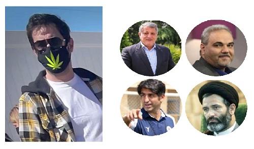 آیا شهاب حسینی نقش روی ماسکاش را نمیشناخت؟!