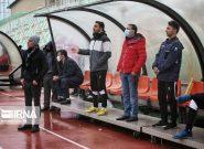 تیم فوتبال خیبر برای صعود به لیگ برتر تلاش میکند