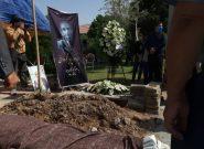 مراسم تدفین پروفسور پرویز کردوانی انجام شد