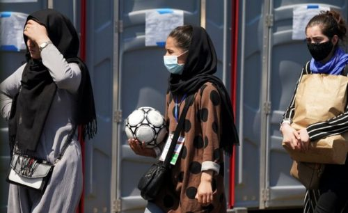 زنان فوتبالیست افغانستان