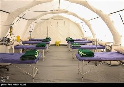 بیمارستان صحرایی ارتش تا پایان هفته در رشت به بهرهبرداری میرسد